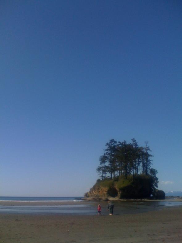 crescent beach.